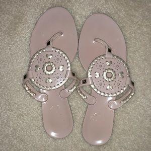 Jack Rogers light pink sandals